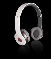 Monster Beats by Dre Solo HD White Headphones