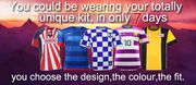 Make your football kit with Hero Sports