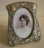 Antique Silver Photograph Frames