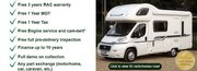 Most Experience Motorhome Dealer in Entire UK Having Wide Range