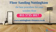 Floor sanding Nottingham