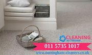 Carpet cleaning services in nottingham