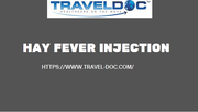 Buy Kenalog Hay Fever Injection